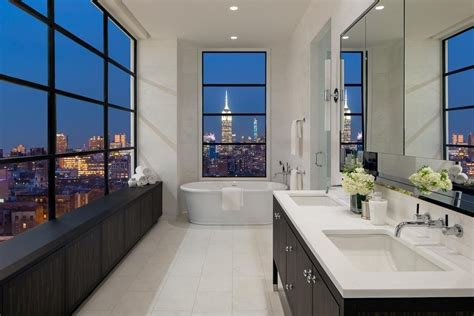 bathtubs nyc 40 stunning luxury bathrooms with incredible views