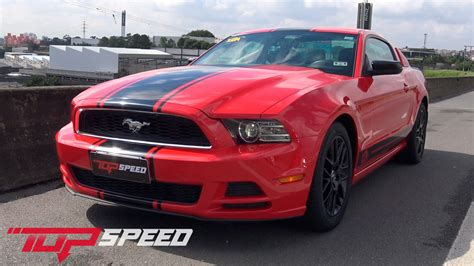 ford mustang v6 top speed avalia 231 227 o ford mustang v6 canal top speed
