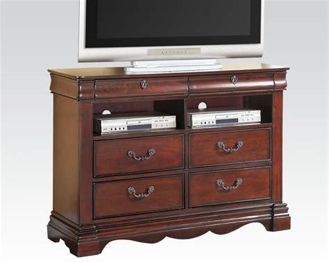 furniture console tv console estrella by acme furniture ac20737