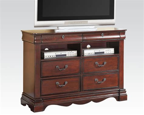 tv console tv console estrella by acme furniture ac20737