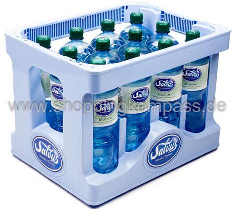 1 kasten wasser mineralwasser salvus mineralwasser medium kasten 12 x 1