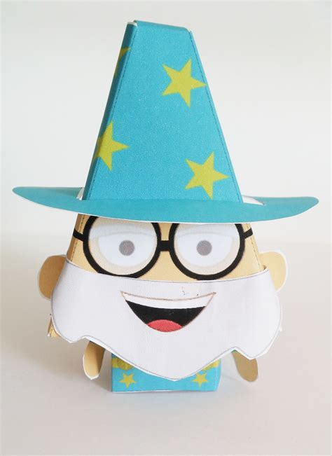 Images Of Paper Craft - easy paper craft wizard tutorial imagine forest