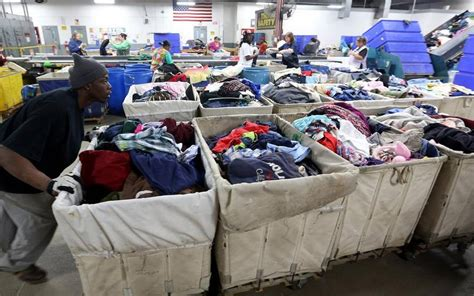 recycle clothes many charities want them the kansas