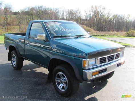 nissan hardbody 4x4 1997 vivid teal pearl metallic nissan hardbody truck xe