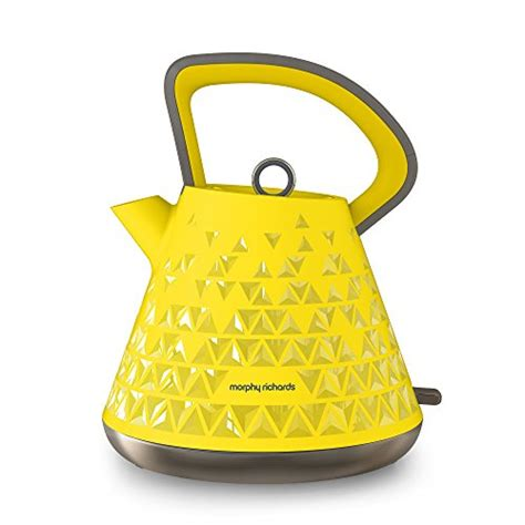 Yellow Kitchen Accessories Argos Morphy Richards 108108 Prism Kettle Yellow