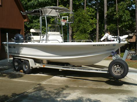 sea pro boat letters 2005 sea pro sv2100 bay boat sold the hull truth