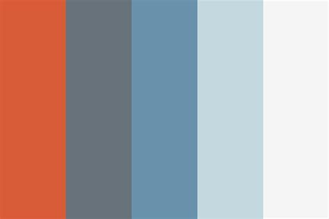 modern colour schemes slate modern color palette