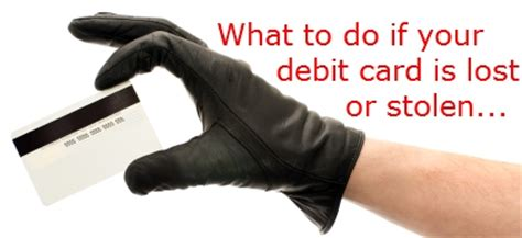 Visa Gift Card Lost - lost visa debit card stolen visa debit card here s what to do