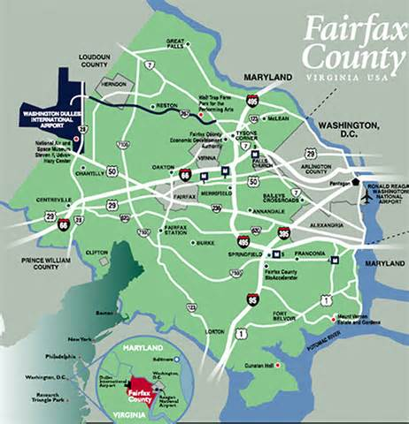 Fairfax Virginia Map by Fairfax County Virginia Homes For Sale And Real Estate