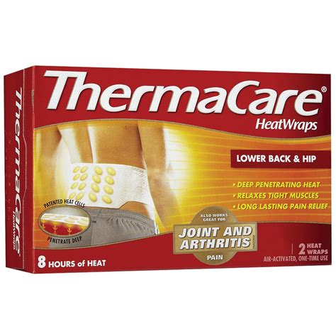 thermacare heat wraps   hip   heat