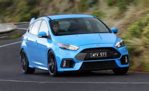 2016 ford focus rs now on sale in australia from 50 990