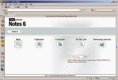 lotus notes version history lotus notes timeline history overview of ibm lotus notes