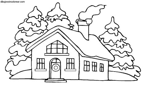 imagenes faciles para dibujar de casas dibujos de casas para imprimir y colorear colorear im 225 genes