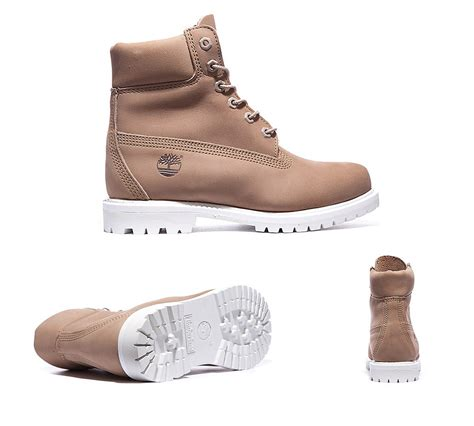 timberland womens 6 inch premium boot bone white