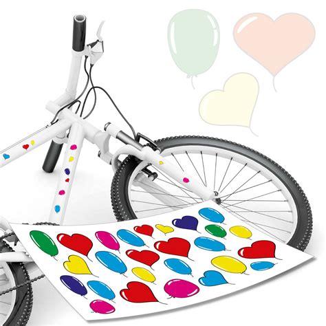 Fahrrad Lackieren Aufkleber by Luftballon Aufkleber Fahrradaufkleber Fahrrad Aufkleber