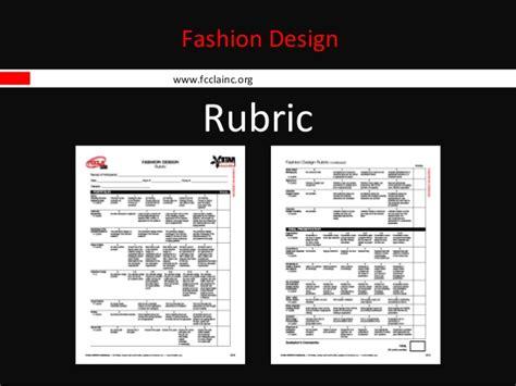 fashion illustration rubric fashion design