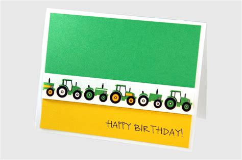 printable john deere birthday cards boy birthday card tractor birthday card