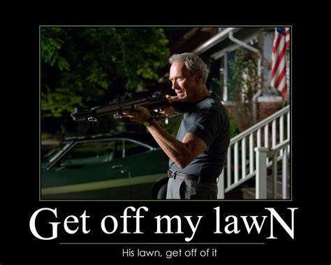 Get Off My Lawn Meme - get off my lawn meme