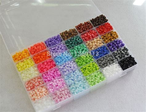 5mm perler 36 colors 11500pcs box kit 1 big