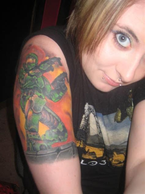 xbox tattoo ideas gears of halo video game reviews news and cosplay
