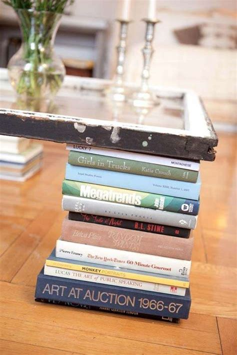 15 cool ideas how to decorate with books without ruing them