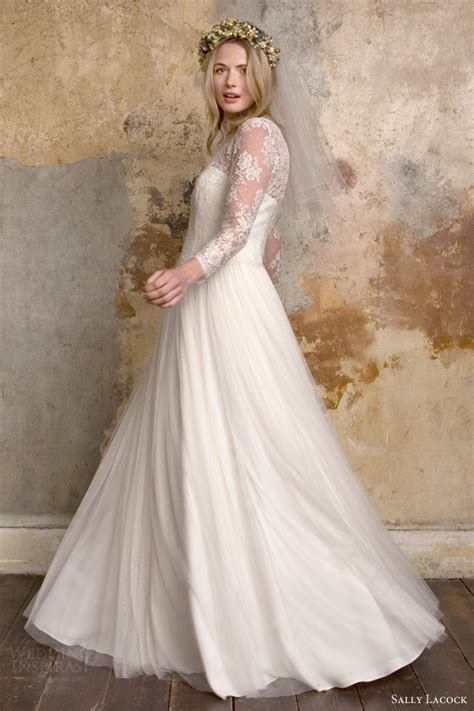 Sally Lacock Vintage Inspired Wedding Dress Collection Vintage Style Lace Wedding Dresses Uk