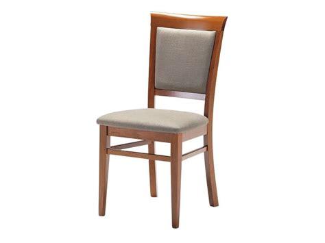 sedie per soggiorno sedia in legno con seduta e schienale imbottiti per