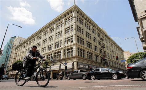 la times printing facility arts district real estate former may co building in downtown l a to get revived