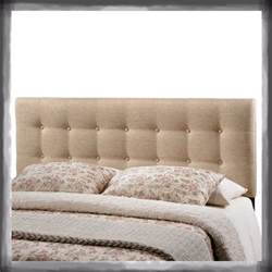 bedroom headboard upholstered tufted button