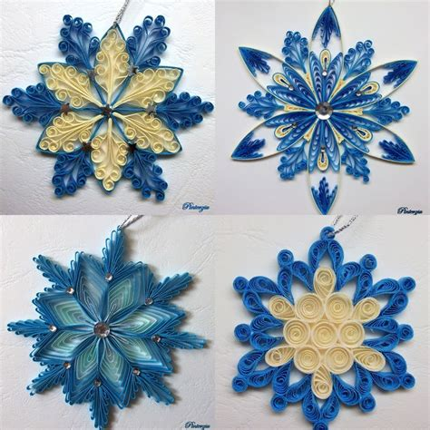 quilling snowflakes tutorial 1234 best images about christmas quilling on pinterest