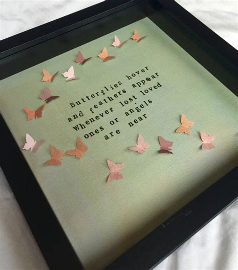 memorial sympathy gift frame lost loved one angels
