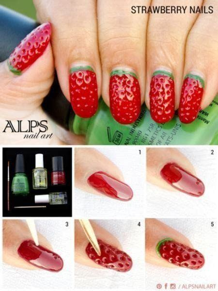 tutorial watermelon nail design diy watermelon nail art pictures photos and images for