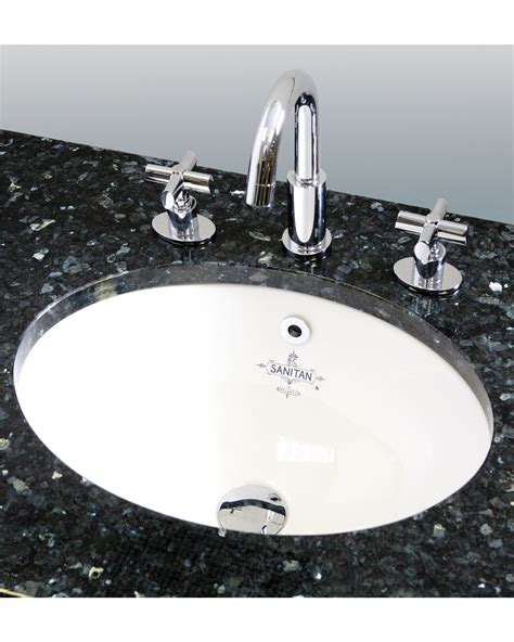 silverdale 440mm white undermount vanity basin