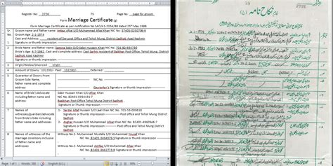Best Website For Marriage Records Marriage Certificate Translation From To Urdu Or