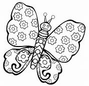 Butterfly Coloring Pages Free Printable For Kids