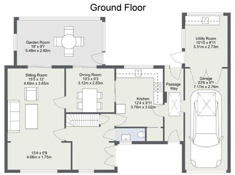 area of a floor plan display the area of a room web roomsketcher help center