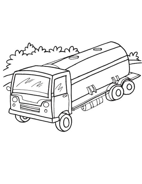 oil truck coloring page free coloring pages of oil tanker
