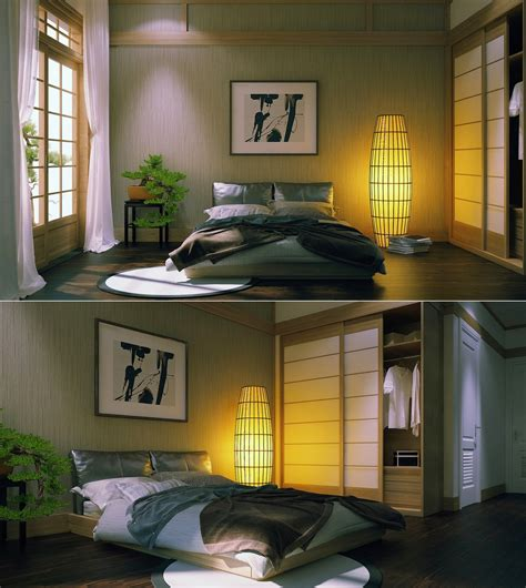 bedroom style zen inspired interior design