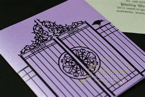 tim burton wedding invitations invitations wedding tim burton inspired wedding