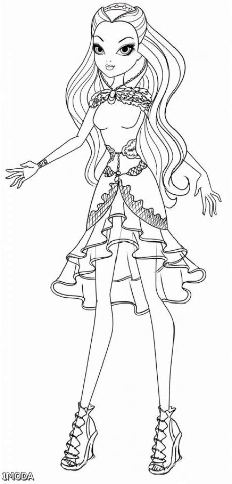 ever after high pet coloring pages get this ever after high coloring pages for girls vgt23
