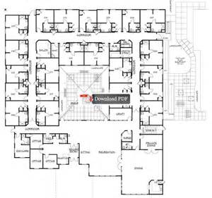 Facility Floor Plan by Carrington Court Assisted Living Memory Care Facility