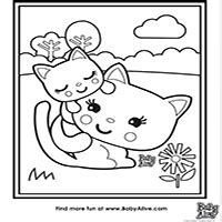 baby alive coloring pages baby alive food packets coloring pages best image of