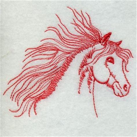 embroidery design horse redwork horse embroidery designs machine embroidery