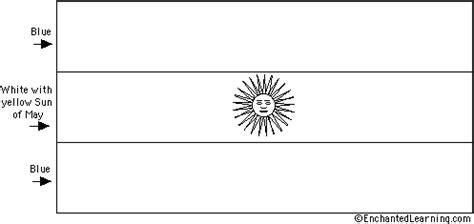 argentina s flag quiz printout enchantedlearning com