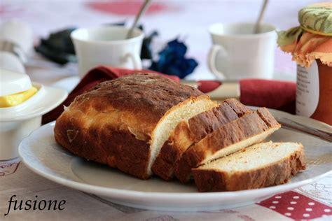 pane cassetta pane a cassetta fatto a mano ricetta facile fusione