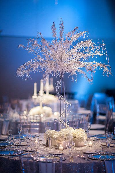 winter wedding tree centerpieces best winter wedding decorations temple square