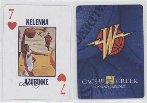 Cache Creek Gift Card - 2007 cache creek casino golden state warriors playing cards 7h kelenna azubuike ebay
