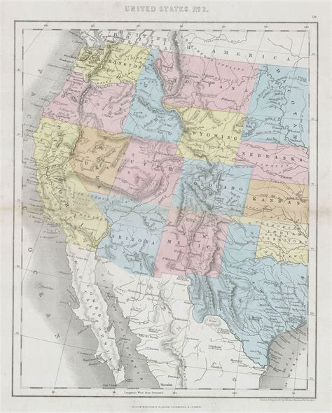 map of western states usa timeline of the american west