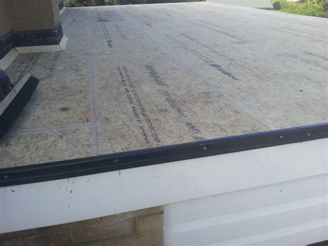 Replacing A Flat Garage Roof by Side Flat Garage Roof Rear Utility Manterfield