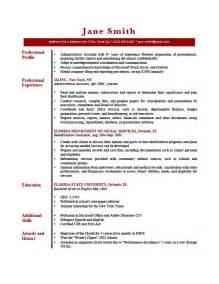 Resume Sample Profile by How To Write A Professional Profile Resume Genius